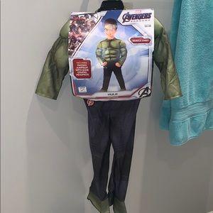 Toddler Costume Hulk